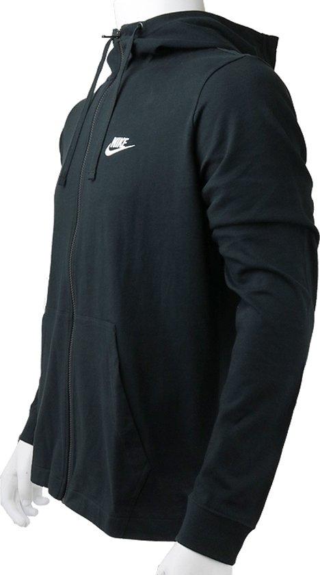 Hoodie Club M Nike Fz 010MannenZwartSporttrui Eu 861754 Casual MaatL Jsy Nsw q4cAjL35R