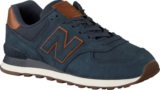 New Balance Heren Sneakers Ml574 - Blauw - Maat 43