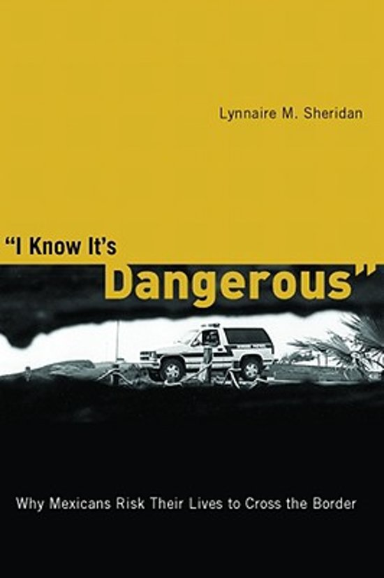 I Know It's Dangerous