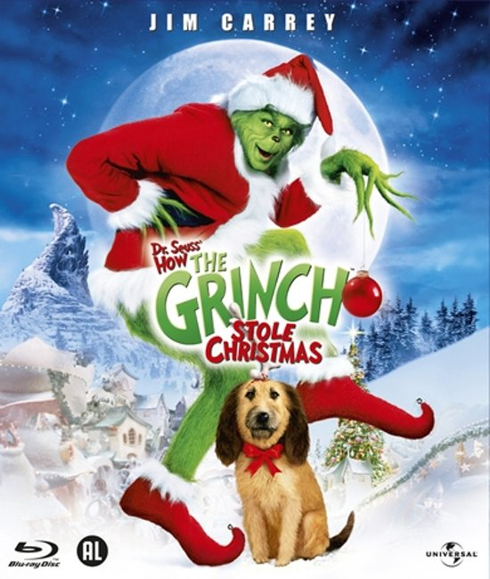 DVD cover van Dr. Seuss How The Grinch Stole Christmas (Blu-ray)