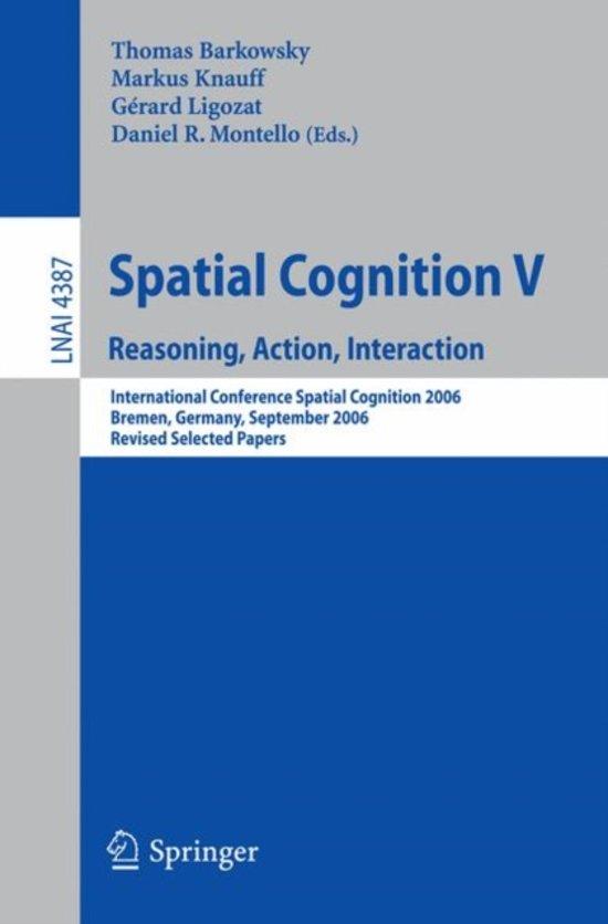 Spatial Cognition V