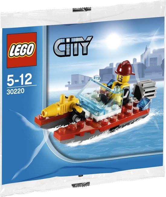LEGO City Brandweer Speedboot - 30220