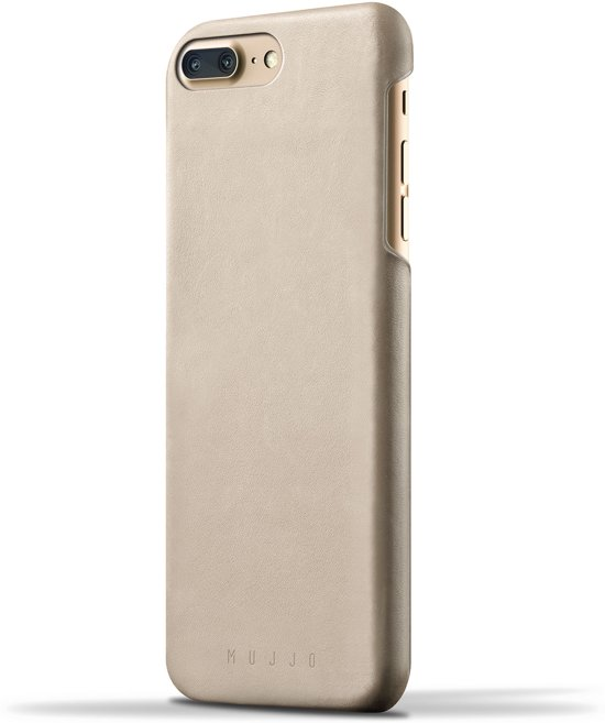 timeless design 9f640 d489e Mujjo Leather Case for iPhone 8 Plus / 7 Plus Champagne