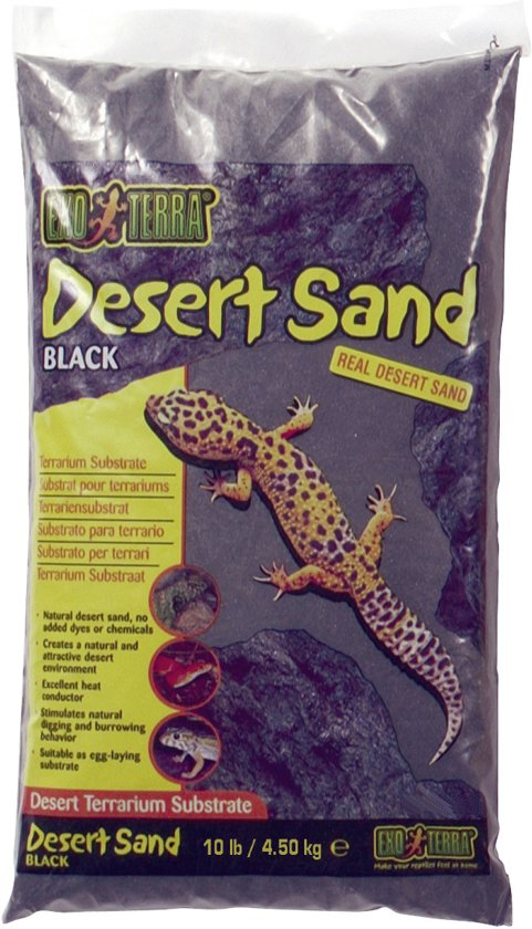 Exo Terra Woestijnzand - Zwart