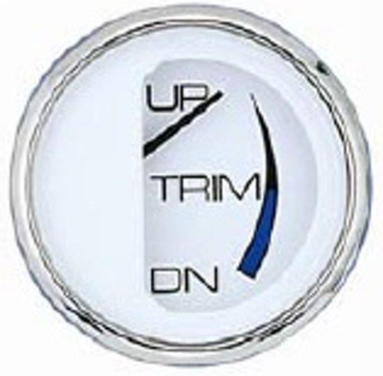 Trim meter Johnson-Evinrude 51mm bol (Wit) (FA13809)
