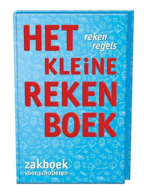 Boek cover Het kleine rekenboek van Marijke van der Mark (Hardcover)
