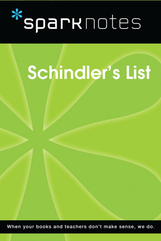 Schindler's List (SparkNotes Film Guide)