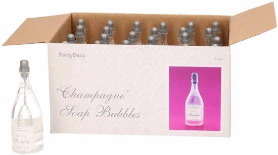Bruiloft bellenblaas champagne 24x