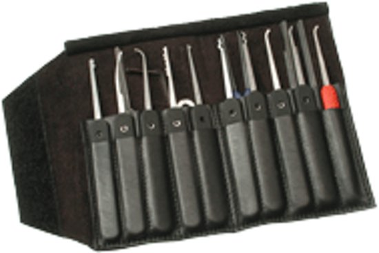 Lockpick Set Government Stainless Series 1