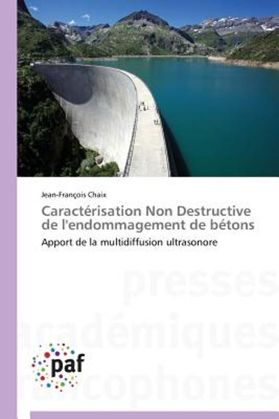Caract�risation Non Destructive de l'Endommagement de B�tons