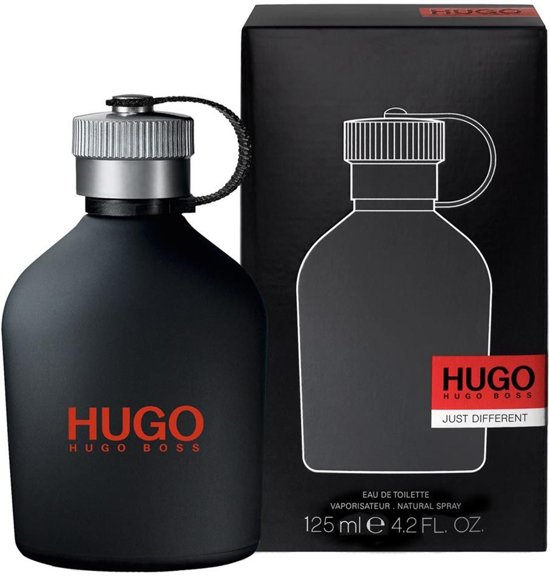 bab879f901d06c bol.com   Hugo Boss Eau De Toilette Just Different 125 ml - Voor Mannen