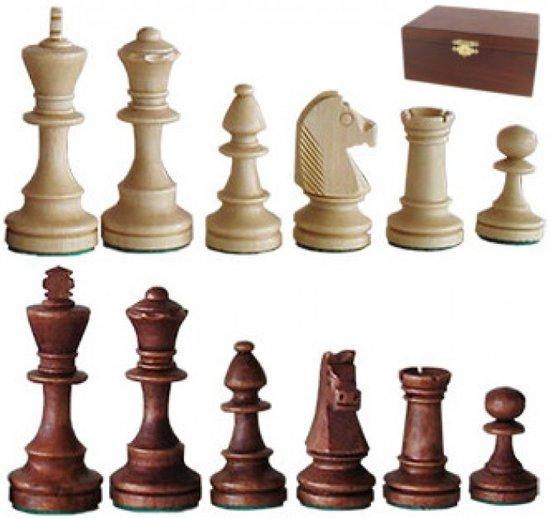 Afbeelding van het spel Schaakstukken Staunton 4 - wedstrijd stijl