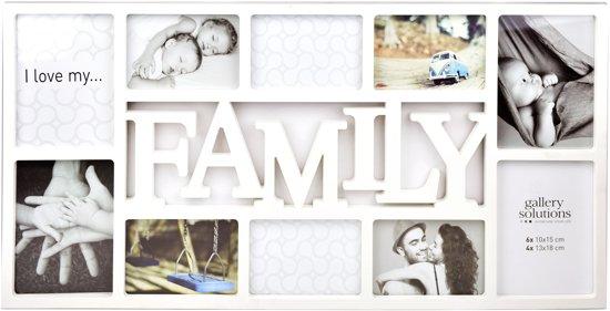 Fotolijst 10 Fotos.Bol Com Collagelijst Fotolijst Family Voor 10 Foto S Wit