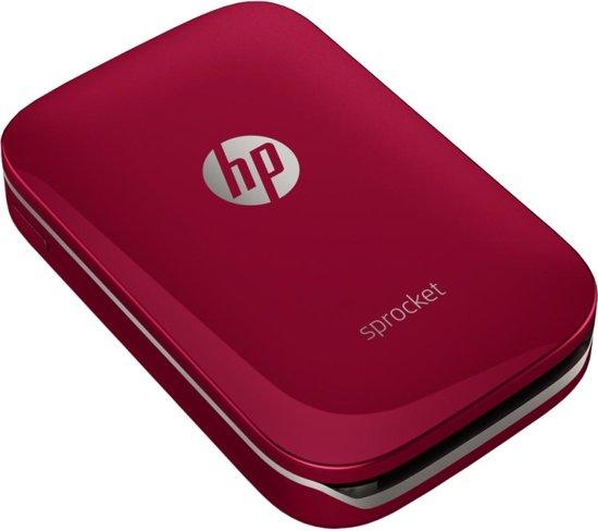HP Sprocket - Mobiele Fotoprinter - Rood