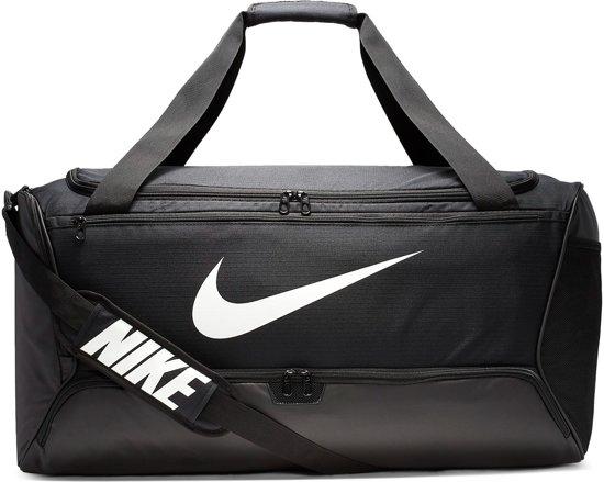Nike Sporttas - zwart/wit