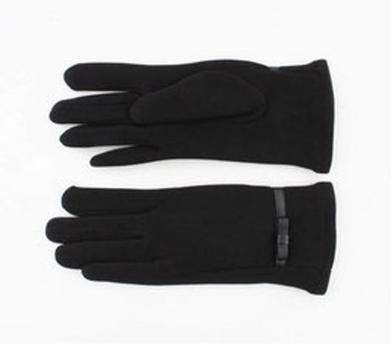 Bohemida - Dames Winter -One Size -Handschoenen Zwart