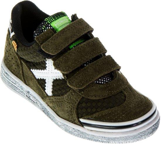 Munich G De 3-enfant Chaussures De Sport Vco - Taille 32 - Unisexe - Gris / Blanc / Vert hPbmJufLsW