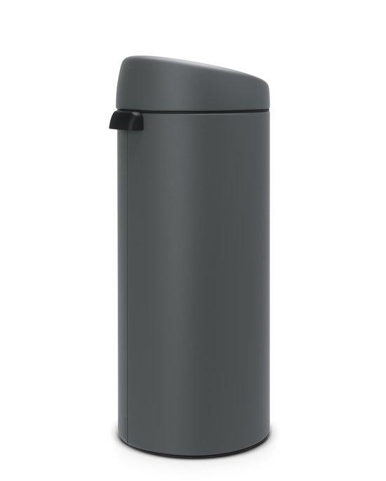 Brabantia Touch Bin 30 Liter Verkeersgrijs