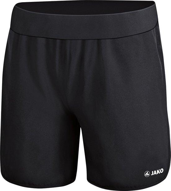 Jako Run 2.0 Dames Short - Shorts  - zwart - 38