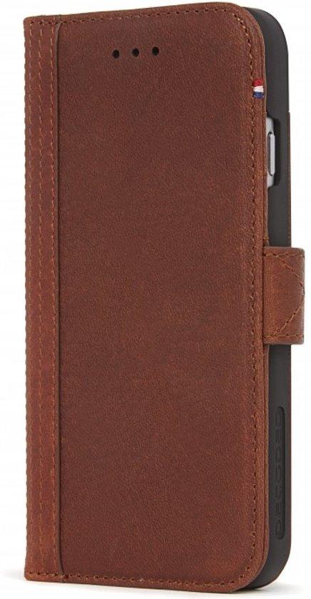 pretty nice 3f9fa 00c8e Decoded Leather Wallet Case met magneet sluiting voor iPhone 8 /7 / 6s /6  (4,7 inch) Kaneel Bruin