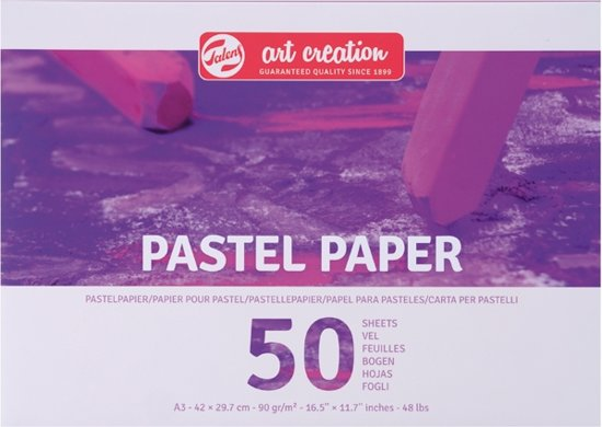 Talens Art Creation pastel papier - wit - FSC mix