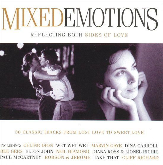 CD cover van Mixed Emotions van Earth, Wind & Fire