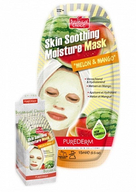 Purederm Skin Soothing Moisture Mask Mango Masker1 st