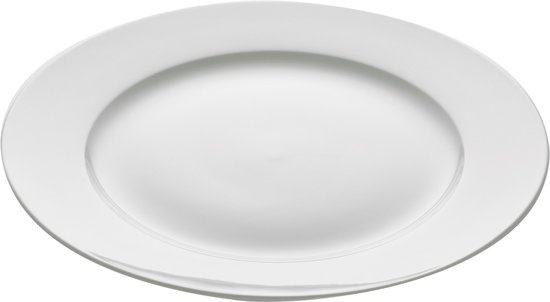 Maxwell & Williams Cashmere Dinerbord - Ø 25,5 cm - Wit