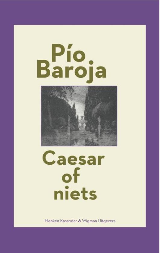 cover Spaanse bibliotheek - Caesar of niets