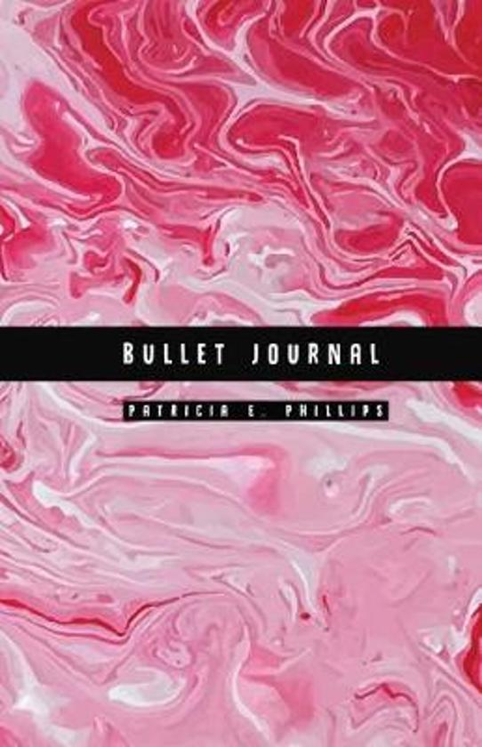 Red Marble Bullet Journal