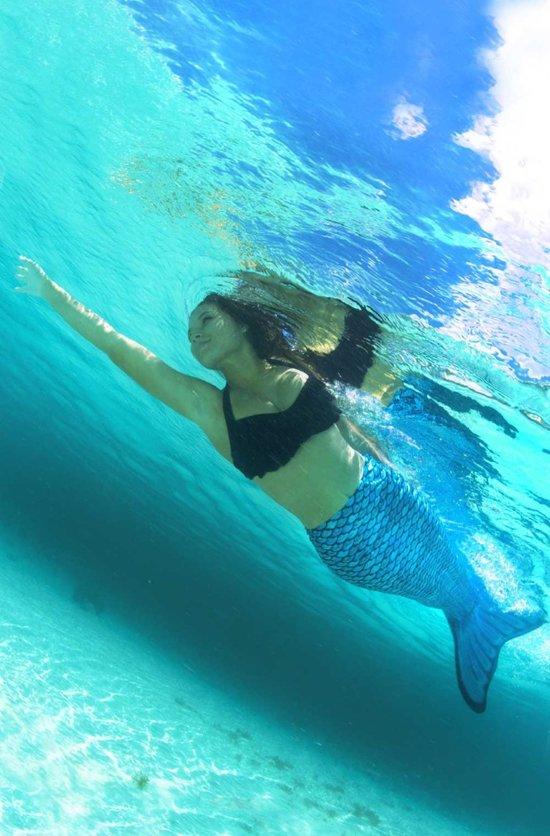 FinFun Zeemeerminnenstaart Marianas Tidal Teal Maat M (8 Jaar)