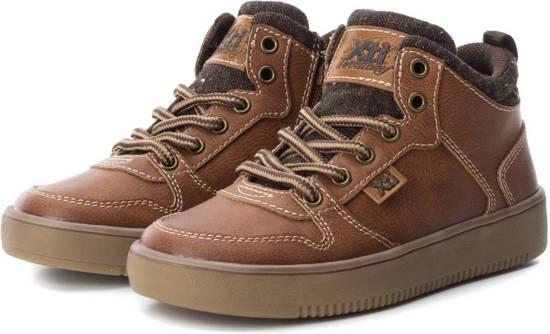 Bruine Kinderschoenen.Pasito Kinderschoenen Xti Nette Stoere Jongens Sneakers
