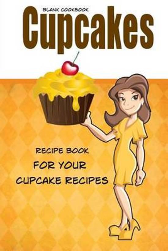 Blank Cookbook Cupcakes