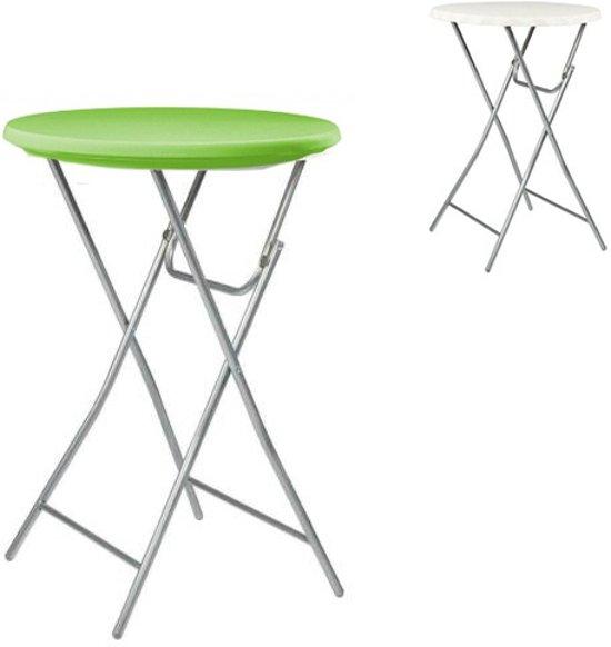 Statafelbladhoes  Groen - Topper voor de Statafel ∅80