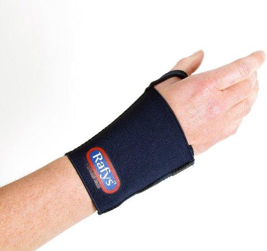 Rafys Polsband 10 cm, S/M blauw