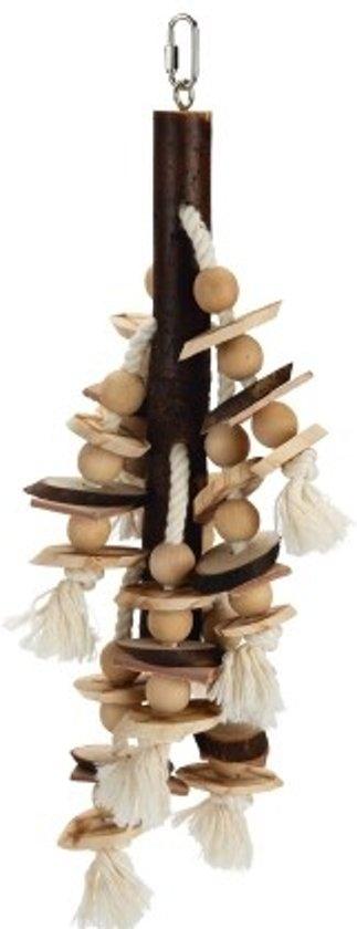 Beeztees houten vogelspeeltje Balto 47 cm