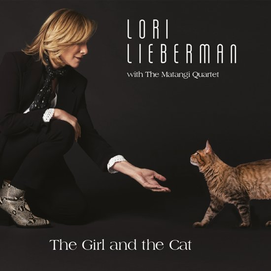 Girl And The Cat
