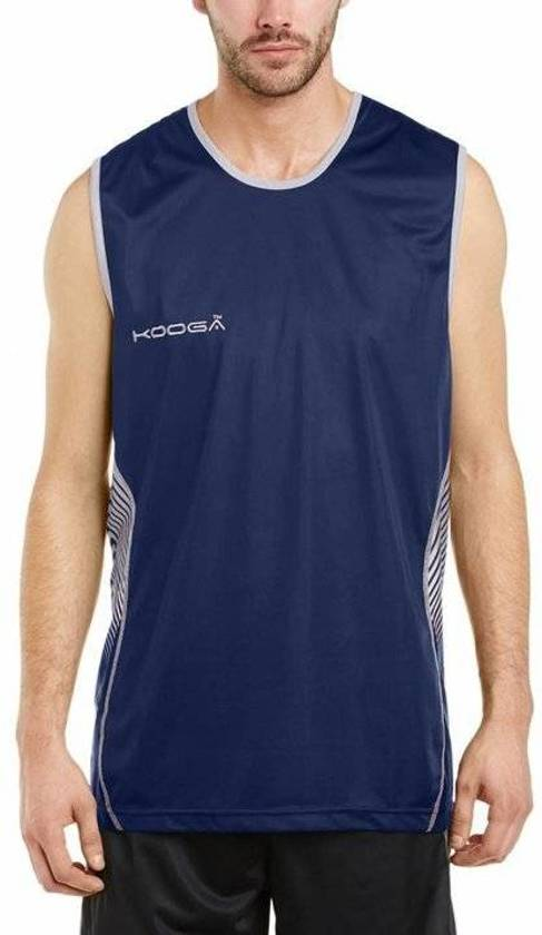 Kooga rugby sevens shirt Muscle Vest Blauw - S