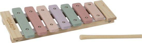 Afbeelding van Little Dutch Xylofoon Adventure Pink speelgoed