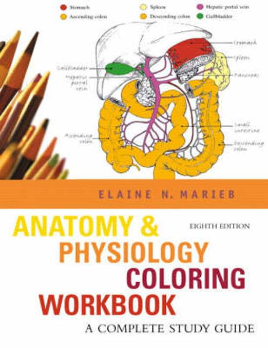 bol.com | Anatomy & Physiology Coloring Workbook, Elaine N. Marieb ...