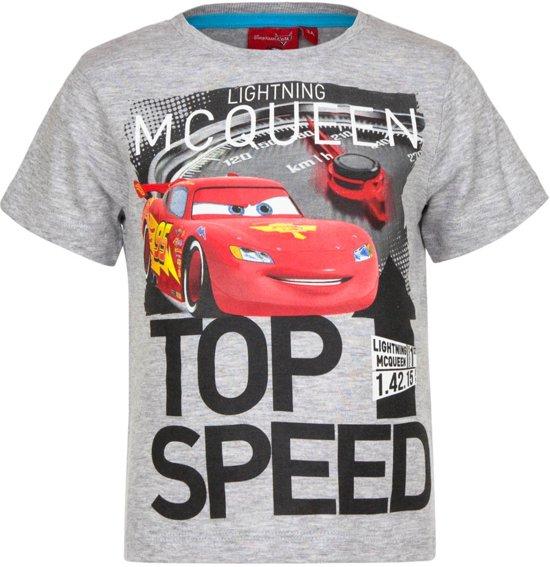 Cars t-shirt 98 cm grijs