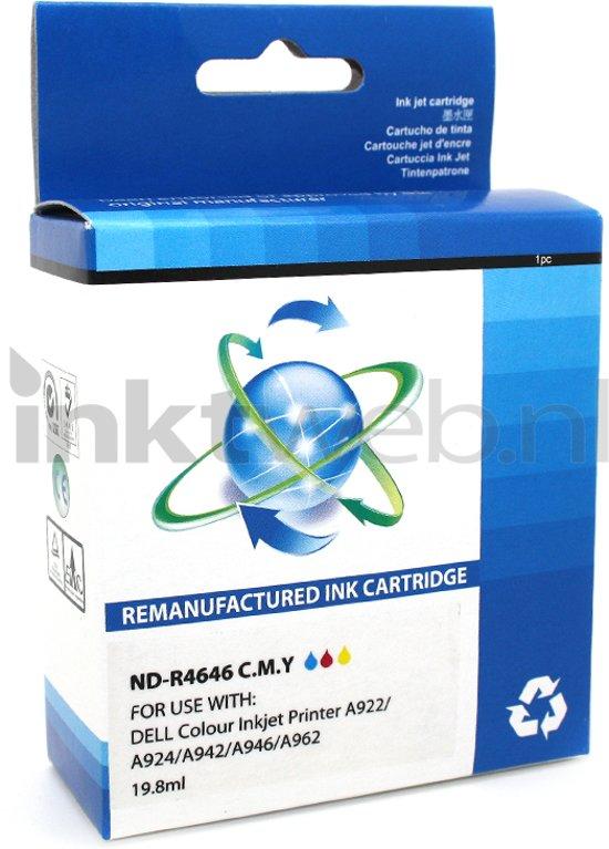 FLWR - Inktcartridge / 922 / Kleur - geschikt voor Dell