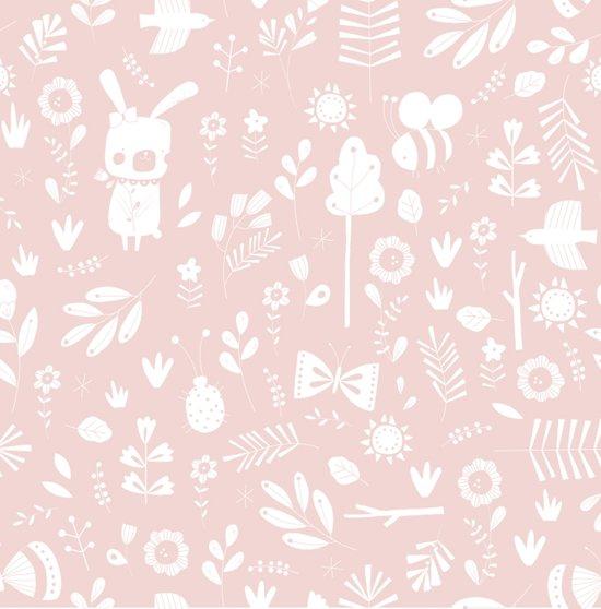 Little Dutch Aankleedkussenhoes - adventure pink