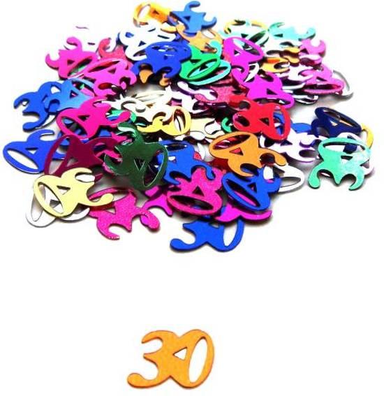 Tafelconfetti 30 Jaar