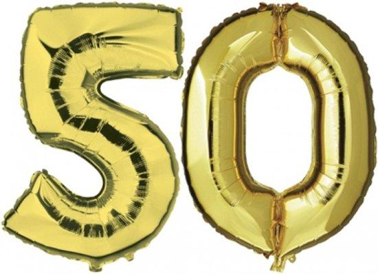 50 jaar getrouwd goud bol.| 50 jaar getrouwd folie ballonnen goud, Merkloos | Speelgoed 50 jaar getrouwd goud