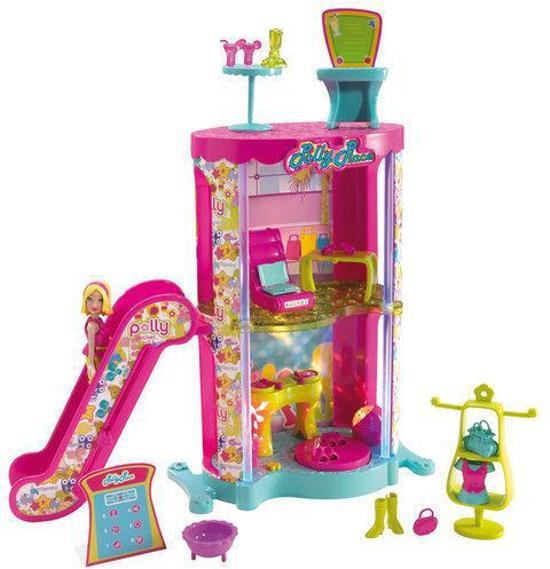 Polly Pocket - Winkelcentrum binnenplaats speelset