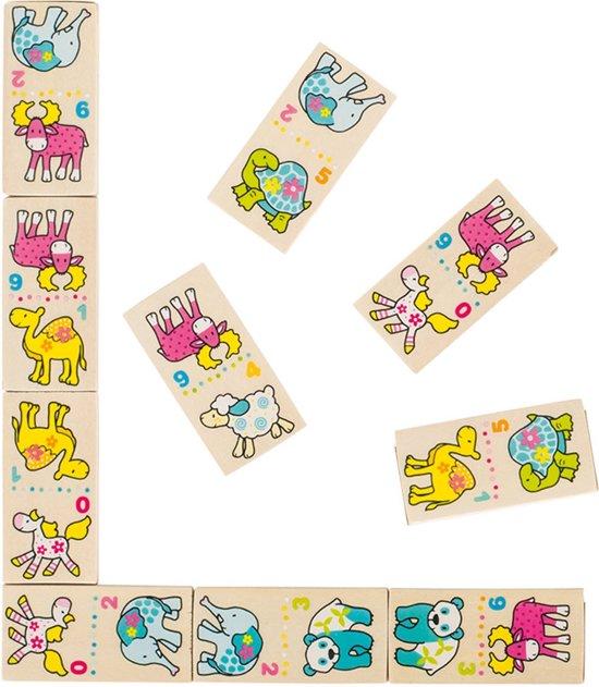 Afbeelding van het spel Goki   Houten domino spel - Susibelle