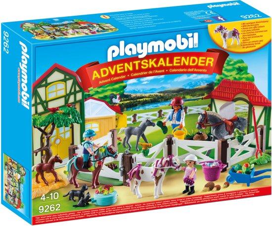 Afbeelding van PLAYMOBIL Adventskalender Paardrijclub  - 9262 speelgoed
