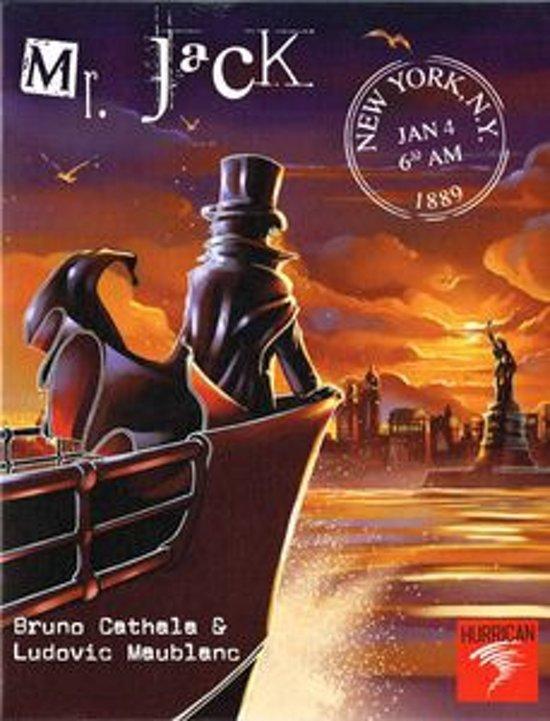 Afbeelding van het spel Mr. Jack in New York - Bordspel