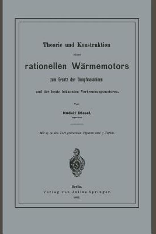 Theorie Und Konstruktion Eines Rationellen W rmemotors